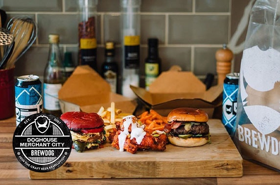 BrewDog takeaway burgers & beer, Merchant City