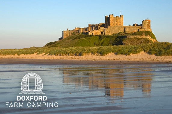 Northumberland luxury glamping - from £99