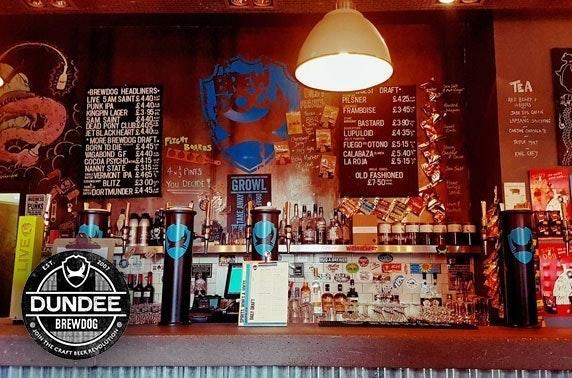 BrewDog takeaway pizzas & wine or beers