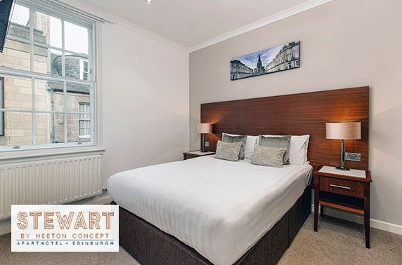 Edinburgh City Centre self-catering stay - from £59