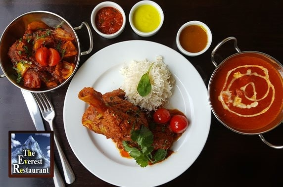 The Everest Restaurant, takeaway or delivery
