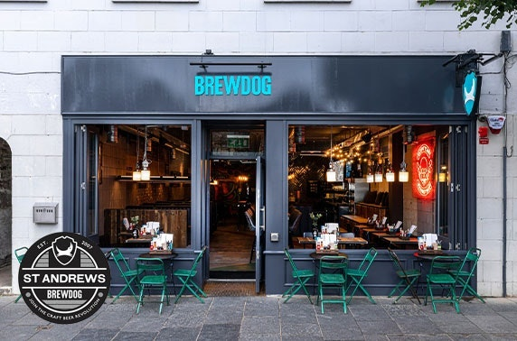 BrewDog takeaway burgers & beer, St Andrews