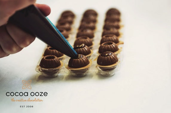 Cocoa Ooze chocolate truffle making kit