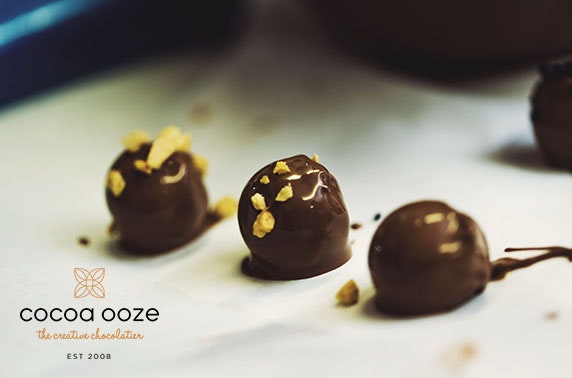 Cocoa Ooze chocolate truffle making kit