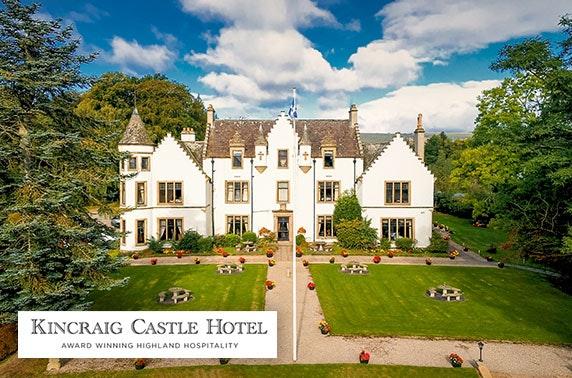 4* Kincraig Castle Hotel stay