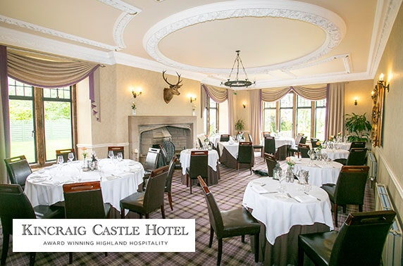 4* Kincraig Castle Hotel stay