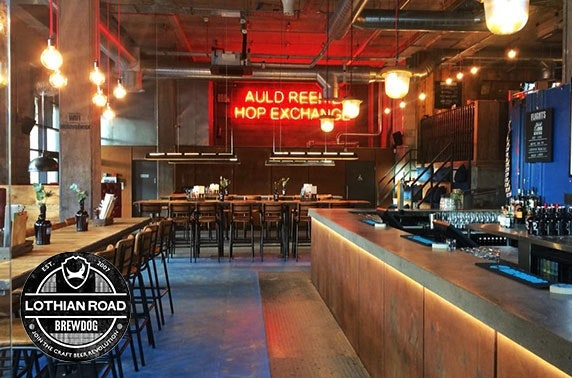 BrewDog takeaway burgers & beer, Lothian Road
