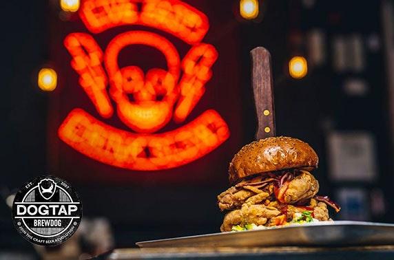 BrewDog DogTap takeaway burgers & beers