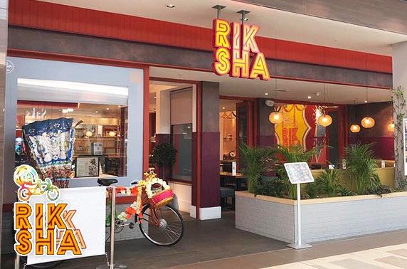 Award-winning Riksha Streetside Indian takeaway - from £5pp