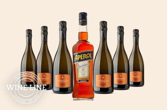 Aperol Spritz kit, delivered