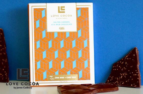 Luxury handmade chocolate from £9