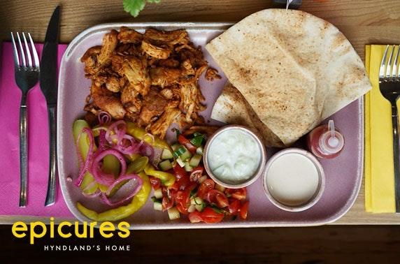 epicures takeaway shawarma feast!