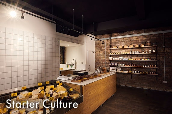 Artisan cheese hampers from Starter Culture