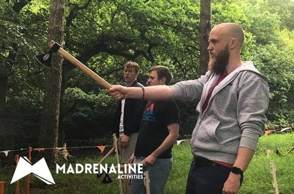 Axe throwing experience