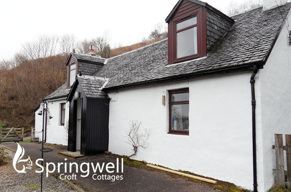 Glencoe self-catering stay – from £99