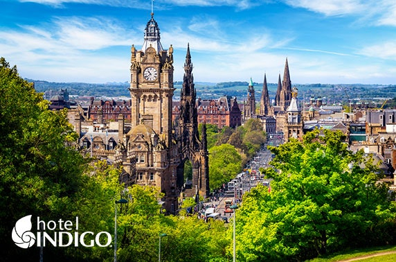 Edinburgh Princes Street stay; valid until Dec