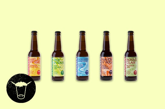 A Wee Taste of the Highlands beer - 12 bottles of delicious craft beers