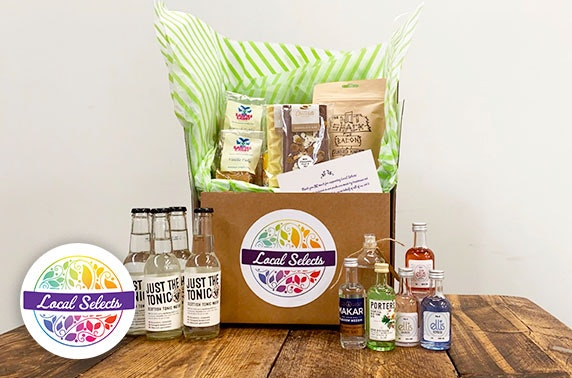Beer & cider or gin treat box