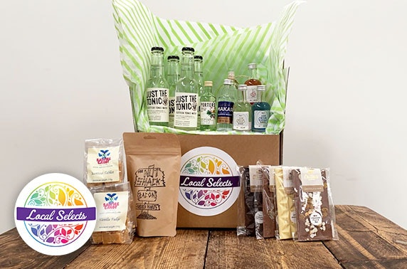 Beer & cider or gin treat box from Sparklingly Sober