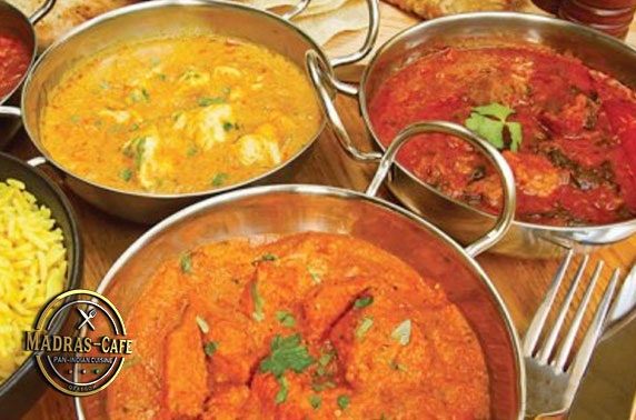 Takeaway or sit-in Indian dining - £9.50pp