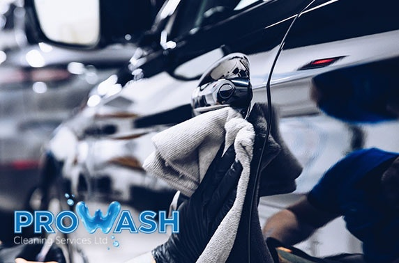 Car wash subscription, Ayr - from £7