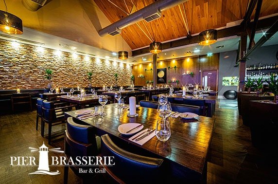 Pier Brasserie dining and wine