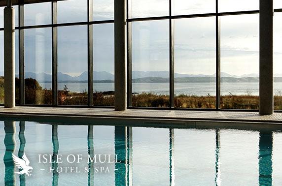 Isle of Mull Hotel & Spa stay