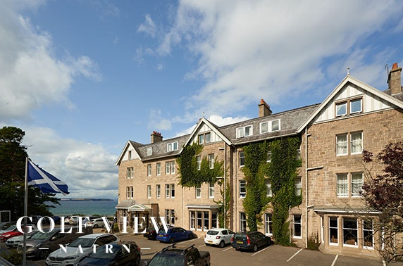 Golf View Hotel & Spa stay, Nairn