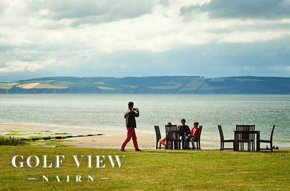4* Seafront getaway, Nairn
