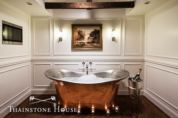 4* Thainstone House stay
