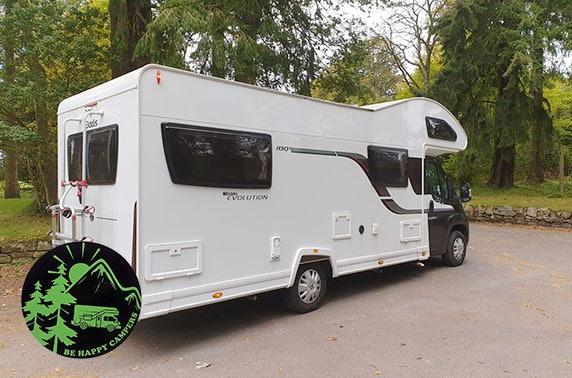 Motorhome hire with Be Happy Campers