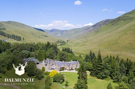 Dalmunzie Castle getaway, Perthshire - from £69