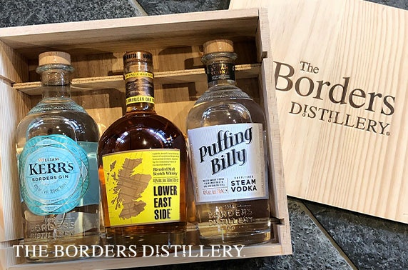 Gin, whisky & vodka gift box