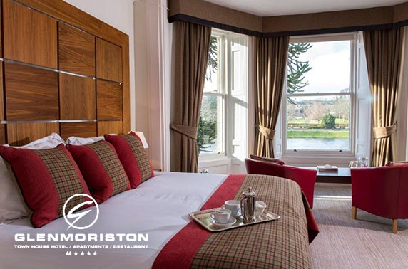 4* Glenmoriston Townhouse Hotel, Inverness - from £89