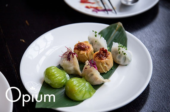 AA-Rosette awarded Opium home dining experience