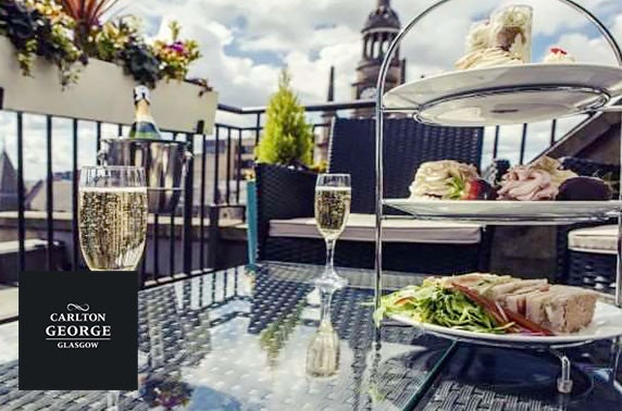 Afternoon tea at 4* Carlton George Hotel, City Centre
