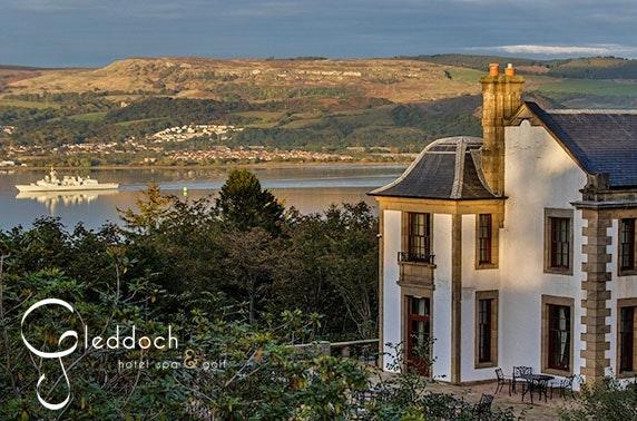 4* Gleddoch – Hotel, Spa & Golf stay