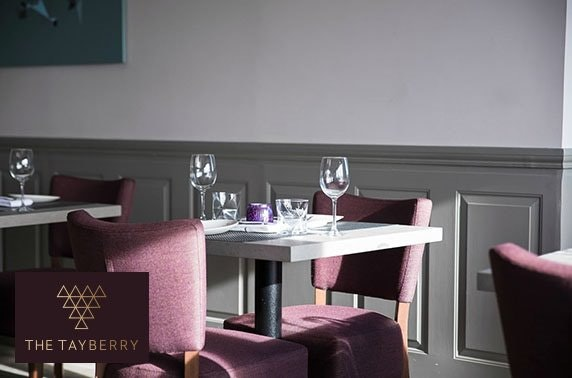 AA Rosette awarded The Tayberry dining