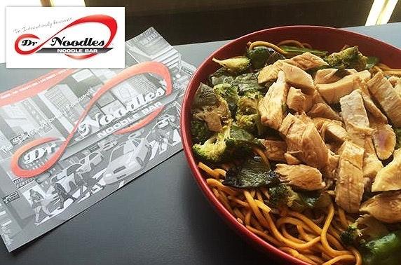 Dr Noodles rice & noodles boxes - £3pp