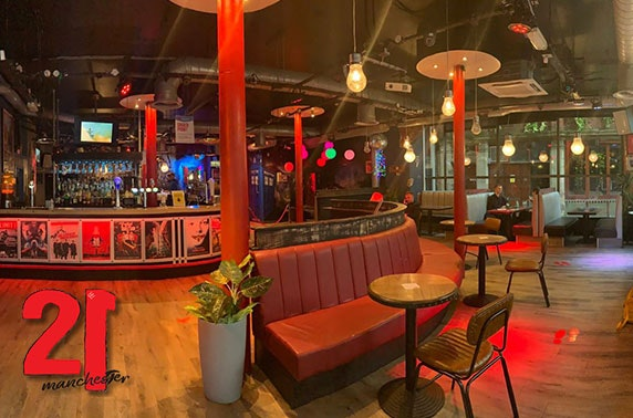 Northern Quarter dining & drinks - from £7pp