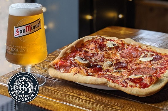 Pizza and drinks - from £6pp