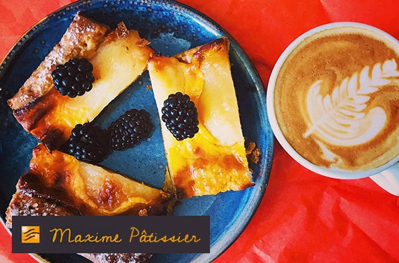 £10, £25 or £50 voucher to spend at newly-opened Patisserie Maxime