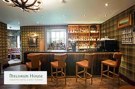 4* Meldrum House Country Hotel stay