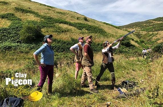 Clay pigeon shooting, archery and air rifle tuition, Stirling