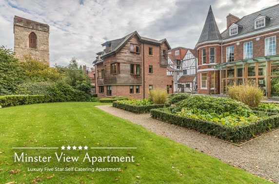 York luxury self-catering apartment