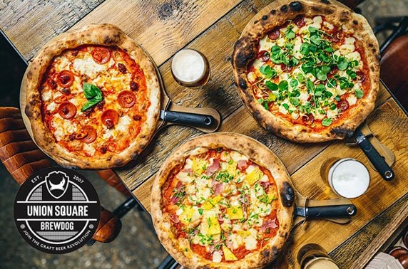 BrewDog Union Square pizza & drinks
