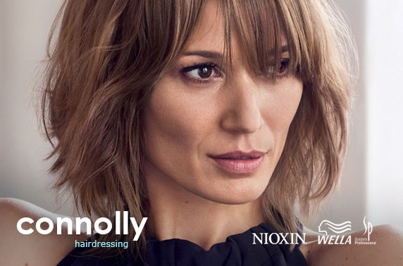 Connolly Hair cut and blow dry
