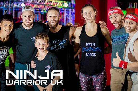 Ninja Warrior UK adventure, Edinburgh