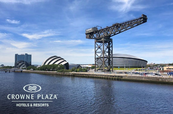 4* Crowne Plaza Glasgow Sunday roast