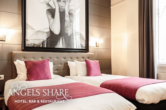 4* Angels Share Hotel, Edinburgh